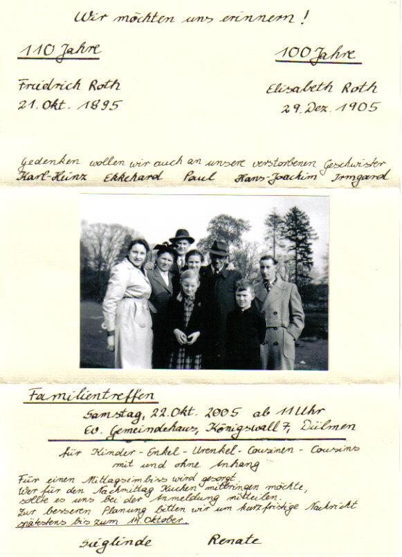 Groß Familientreffen Einladung Vorlage Ideen ...